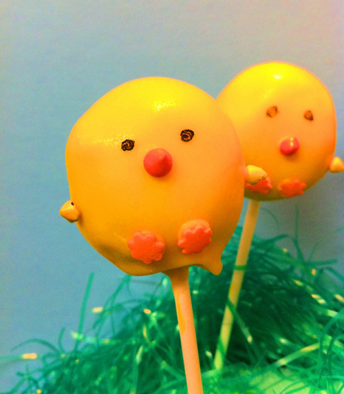 Easter Cake Pops - Eat Yourself Skinny