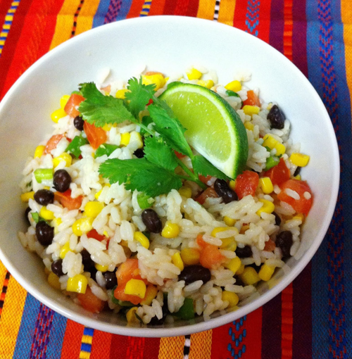 and this fiesta lime rice combine hot rice when i was younger fiesta ...