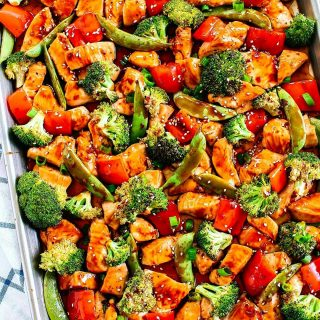 You guysTHIS Sheet Pan Sesame Chicken and Veggies that ishellip