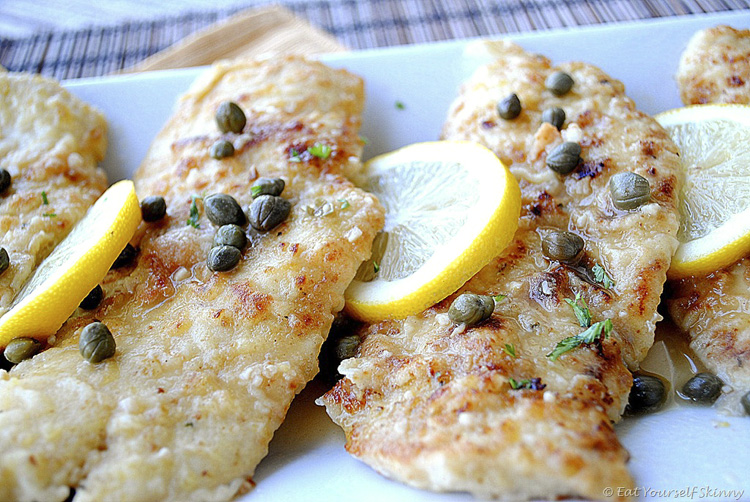 Chicken Piccata - Eat Yourself Skinny
