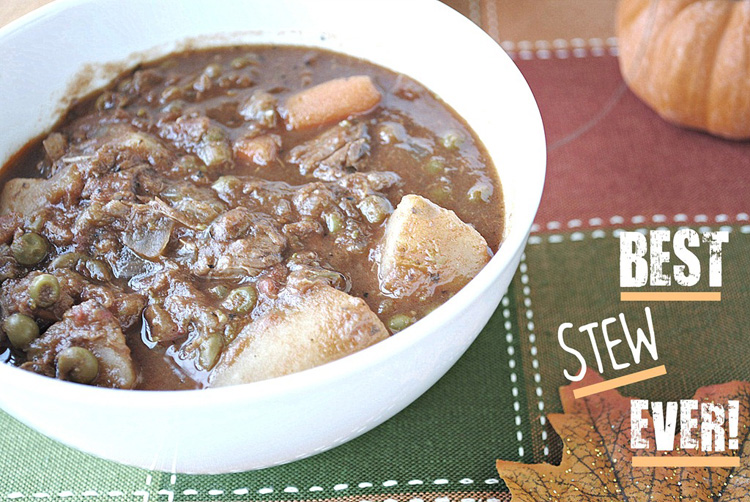 Beef and Tomato Stew - Eat Yourself Skinny