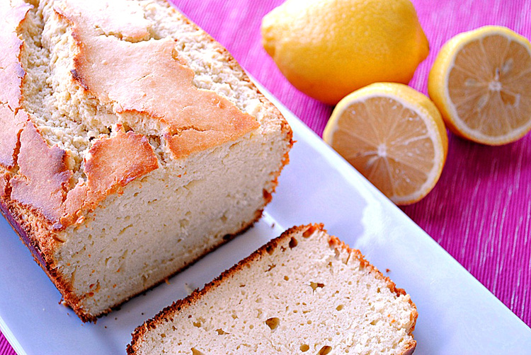 Low Calorie Loaf Cake Recipes: Lemon Pound Cake Lightened-Up