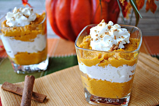 Pumpkin mousse shooters eat yourself skinny these little shooters are the most delicious little treats ever and if youre better at layering the cups than i am sigh turn out to be perfect desserts solutioingenieria Image collections