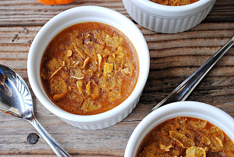 Skinny Pumpkin Pie Cups - Eat Yourself Skinny