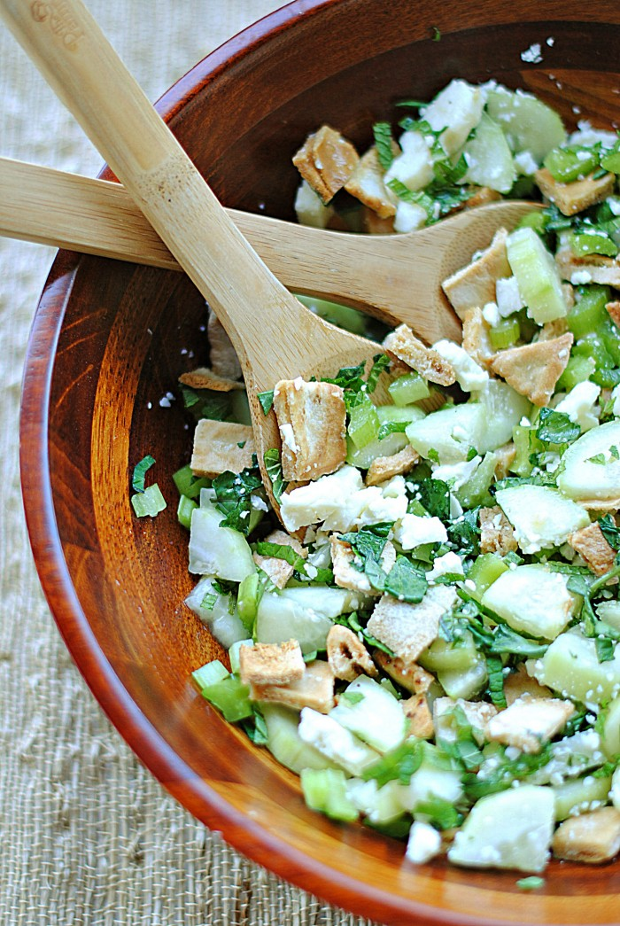 ... picky and very simple. But how can you deny pita, mint and cucumber