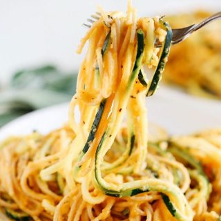 NEW RECIPE Butternut Squash amp Sage Spaghetti with Zucchini Noodleshellip