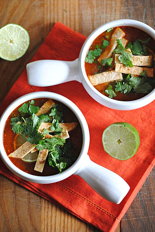 Eat Yourself Skinny » Chipotle Chicken Tortilla Soup