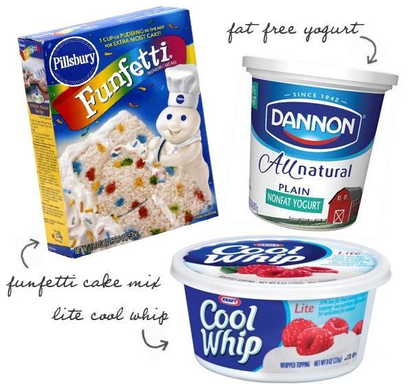 Skinny Funfetti Cake Dip Recipe