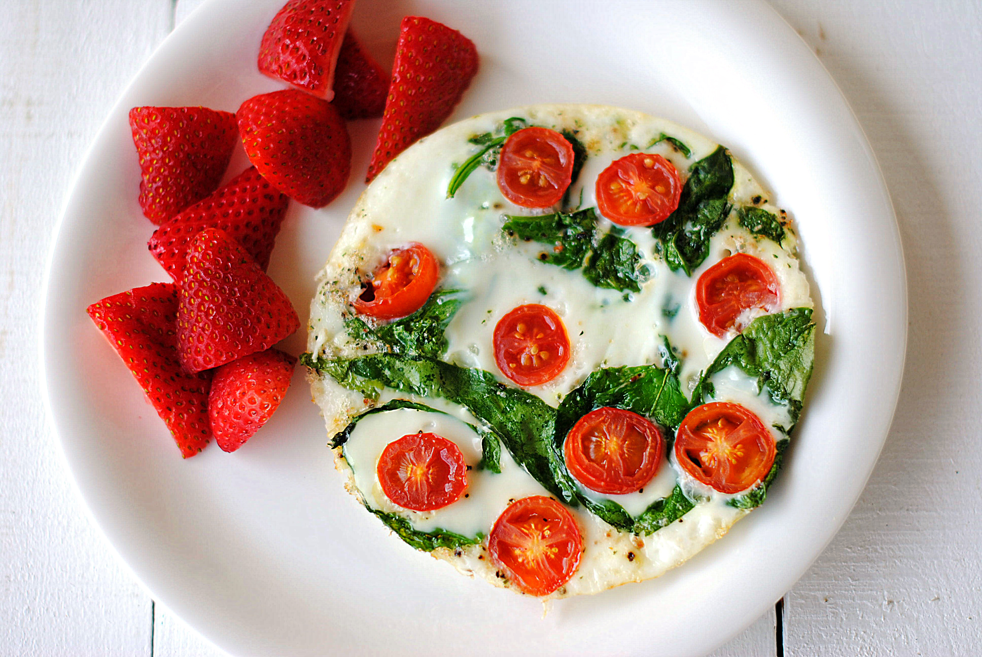 Spinach And Egg White Omelet Eat Yourself Skinny