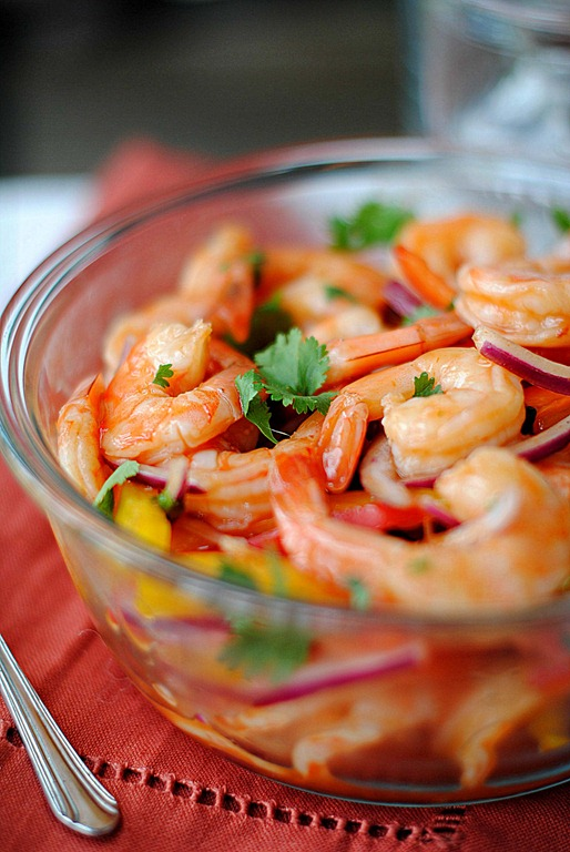 Chipotle Shrimp Cocktail - Eat Yourself Skinny