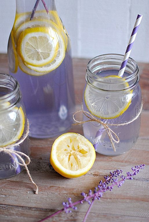 Eat Yourself Skinny » Lavender Lemonade