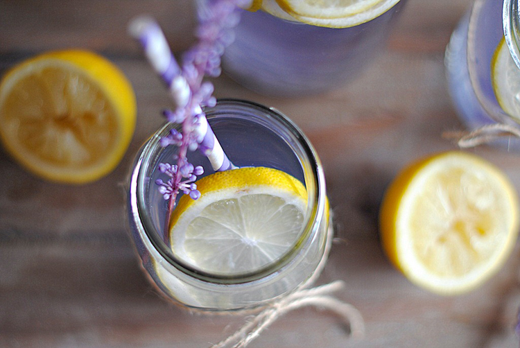 Eat Yourself Skinny » Lavender Lemonade