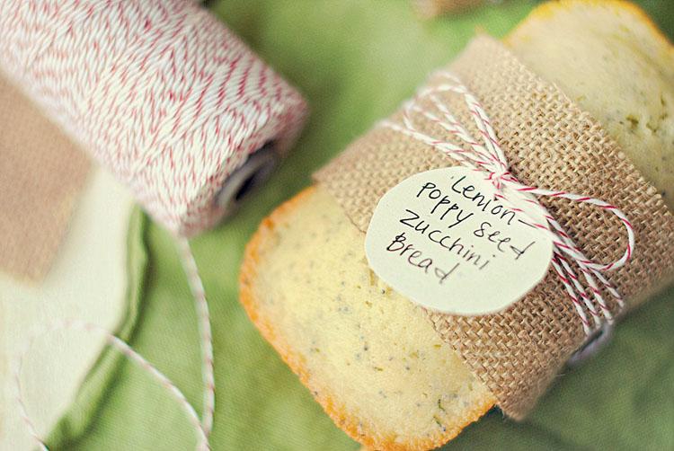 Lemon-Poppy Seed Zucchini Bread - Eat Yourself Skinny