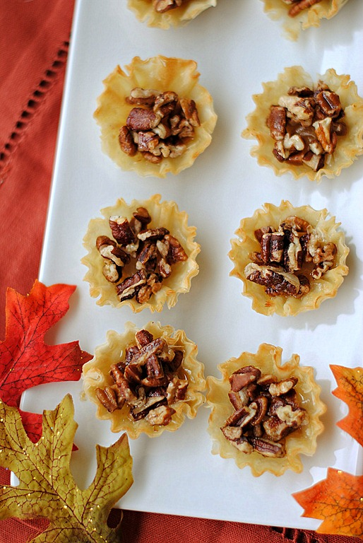 Eat Yourself Skinny » Mini Maple Pecan Pies