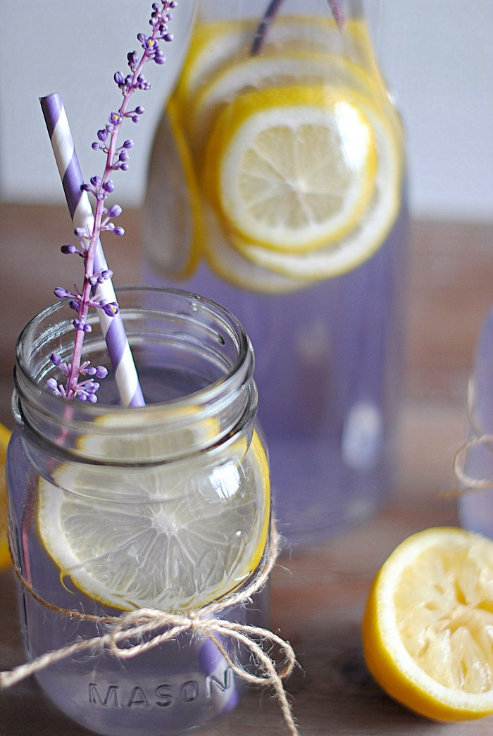 Lavender Lemonade - Eat Yourself Skinny