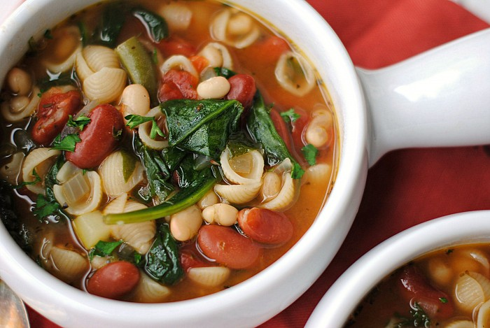Olive Garden Inspired Minestrone Soup Eat Yourself Skinny