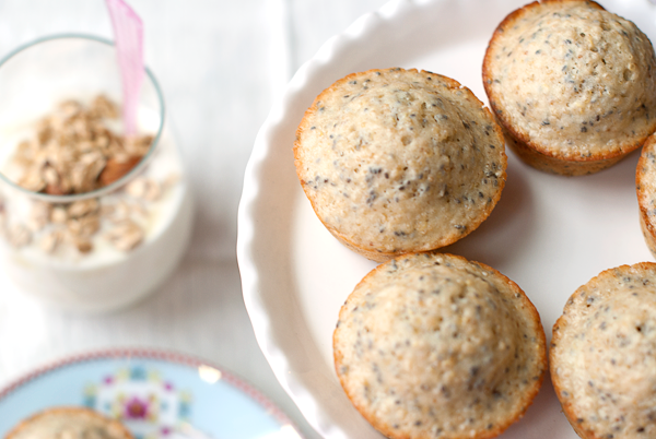 Chia Seed Quinoa Muffins - Eat Yourself Skinny