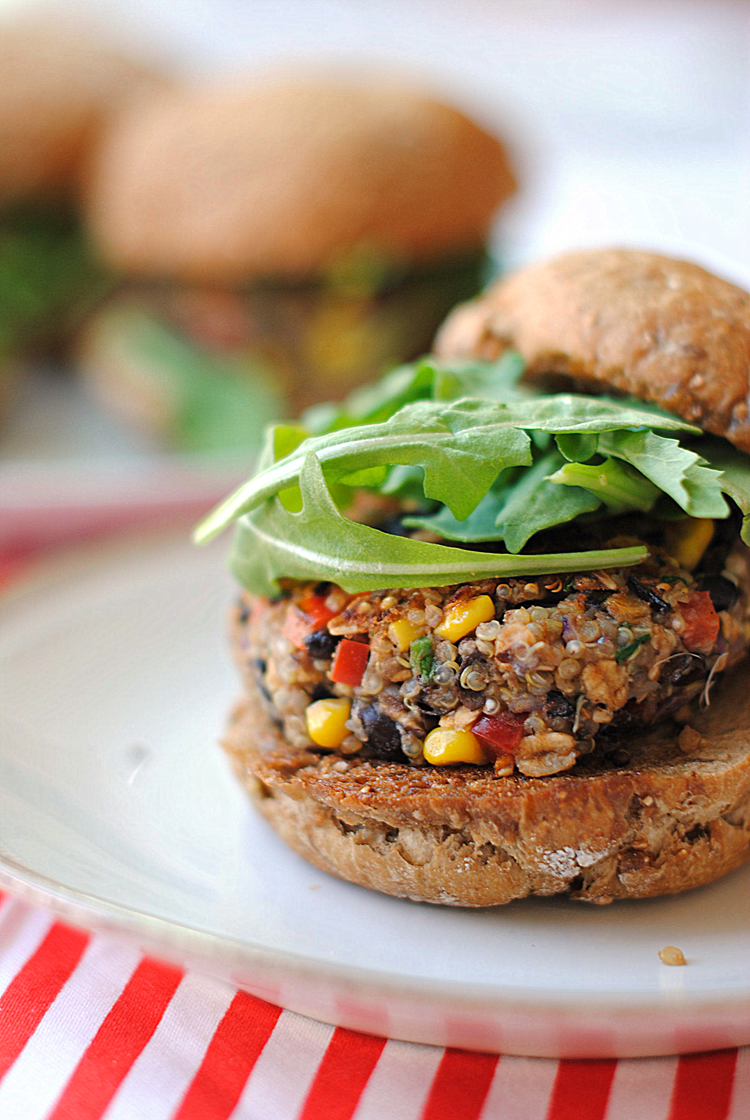 Quinoa Chili Burger