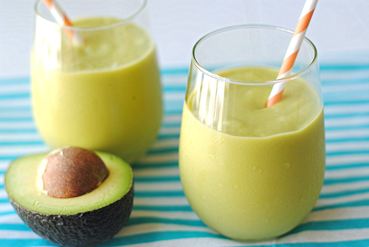 Mango Avocado Smoothie by Eat Yourself Skinny