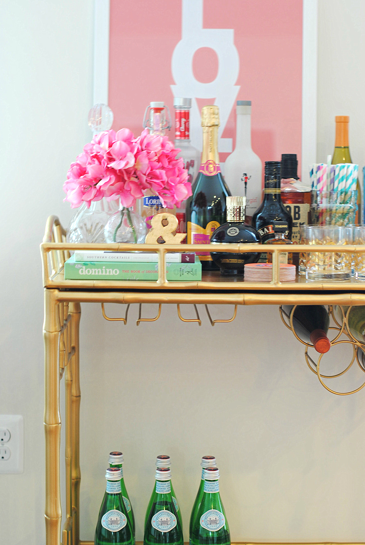 Why Every Girl Needs A Bar Cart