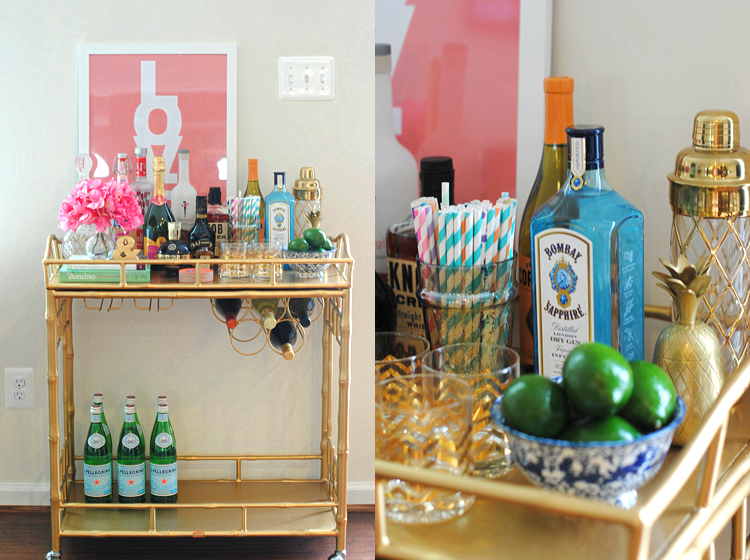Why Every Girl Needs A Bar Cart Eat Yourself Skinny