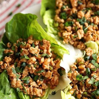 YES these Asian Turkey Lettuce Wraps are happening for dinner!hellip