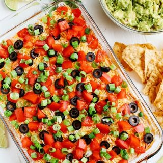 You guys will LOVE this 7 Layer Spicy Taco Dip!hellip
