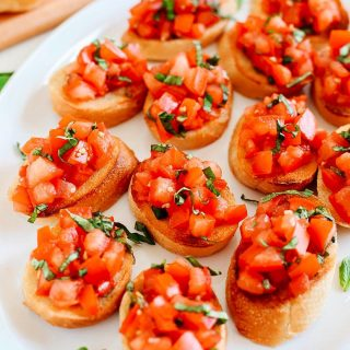 Fresh Tomato Basil Bruschetta is my GOTO recipe when entertaininghellip