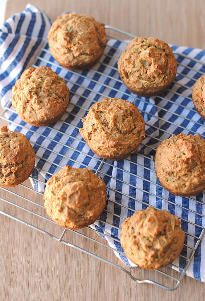 These sweet yet savory Protein Breakfast Muffins not only make the perfect grab-and-go breakfast in the mornings, but they also make a delicious post-workout snack!