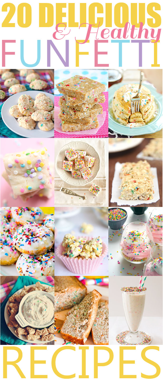 20 Healthy Funfetti Recipes | Eat Yourself Skinny