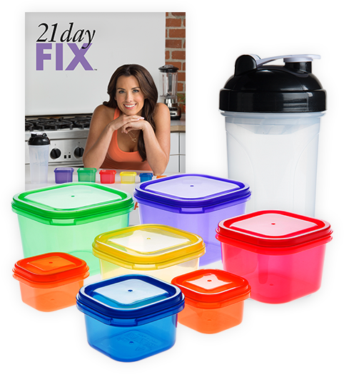 My 21 Day Fix Review!   Eat Yourself Skinny