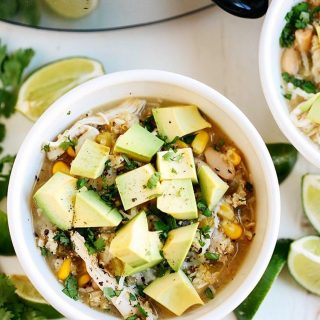 This Slow Cooker White Chicken and Quinoa Chili is ahellip