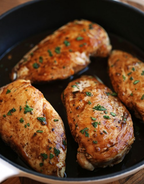 Maple Balsamic Chicken - Eat Yourself Skinny