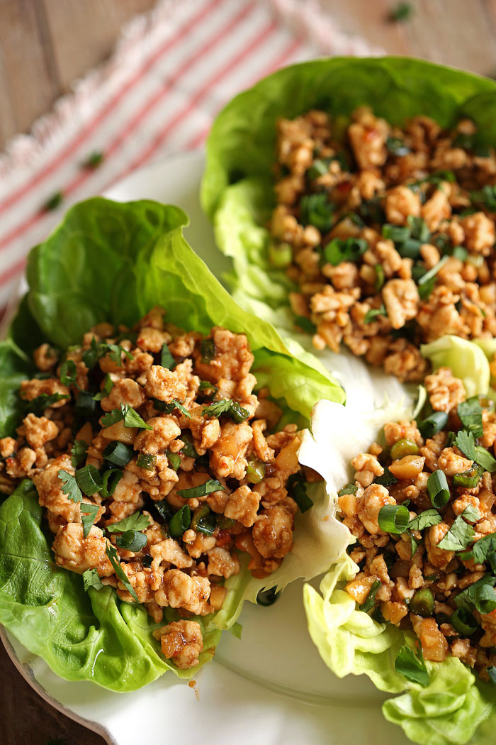 Healthy Turkey Lettuce Wraps Eat Yourself Skinny