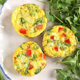 Grabbing these Veggie Egg Muffins for breakfast this morning beforehellip