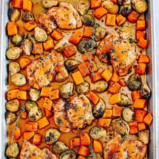 You guysTHIS Sheet Pan Ginger Maple Chicken with Butternut Squashhellip
