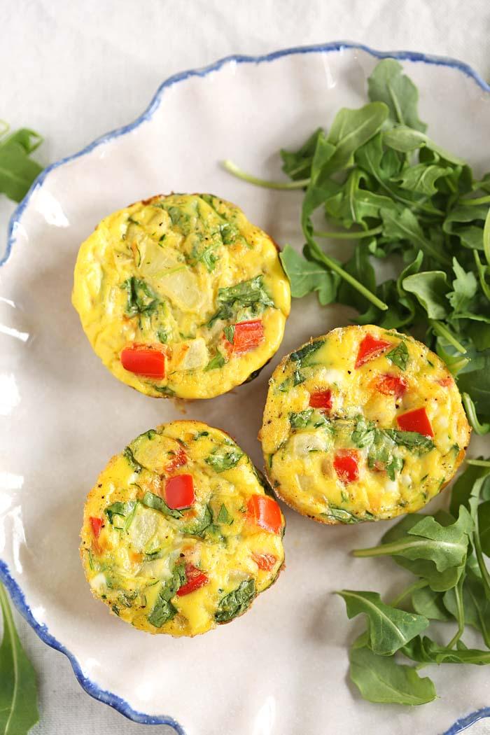 Healthy Veggie Egg Muffins Eat Yourself Skinny