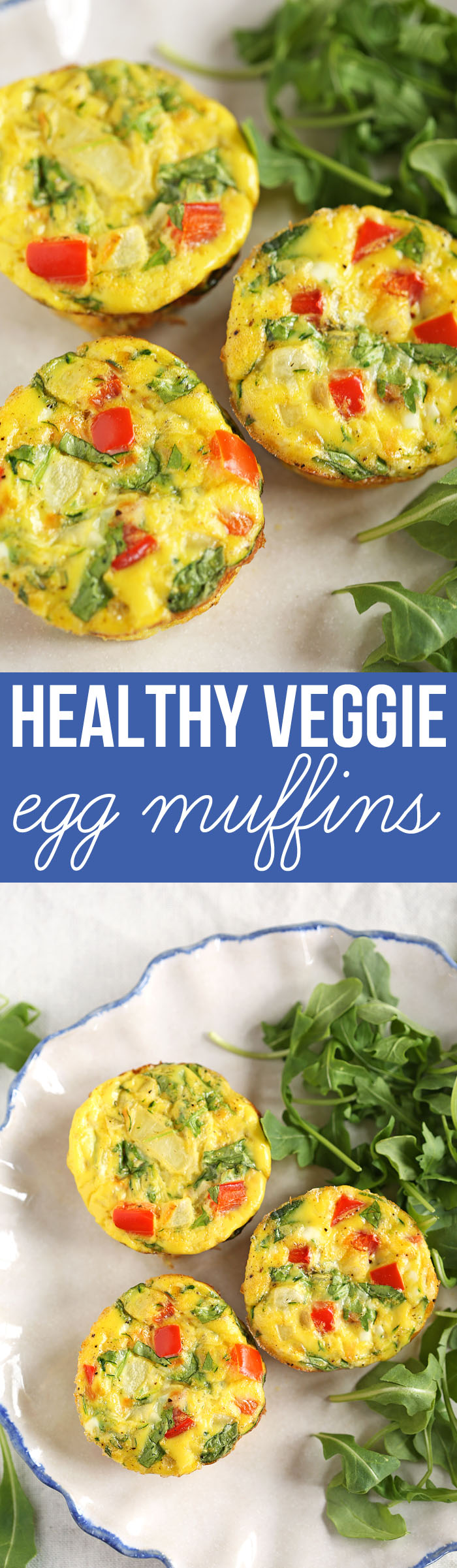 Breakfast Egg Muffins full of delicious veggies that are super easy ...