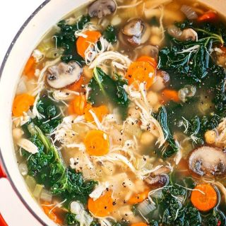 Im just loving this Detox ImmuneBoosting Chicken Soup! Not onlyhellip