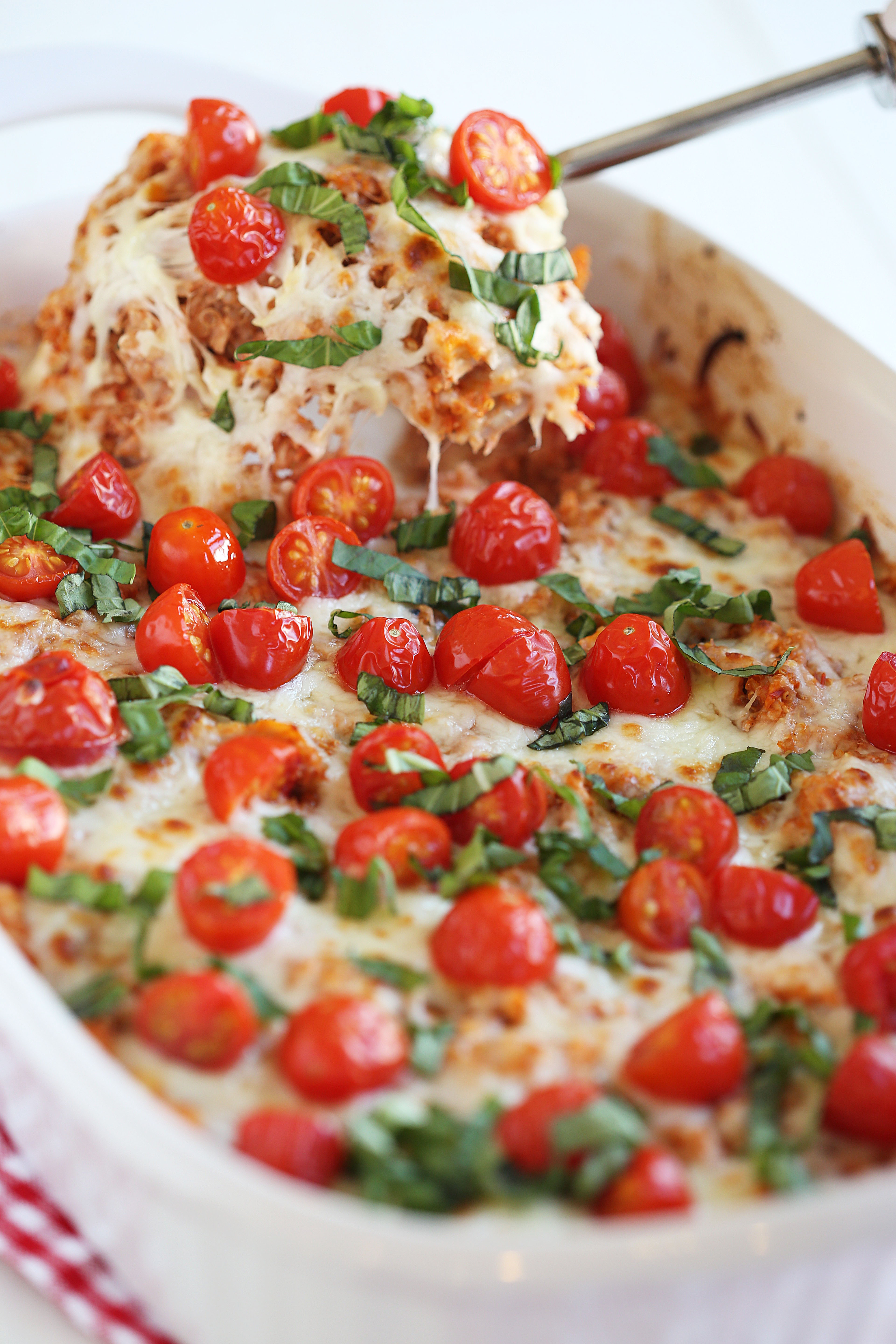 This Cheesy Caprese Chicken And Quinoa Casserole Is The Perfect Healthy  Weeknight Meal That Is Hearty Prepare Quinoa How To
