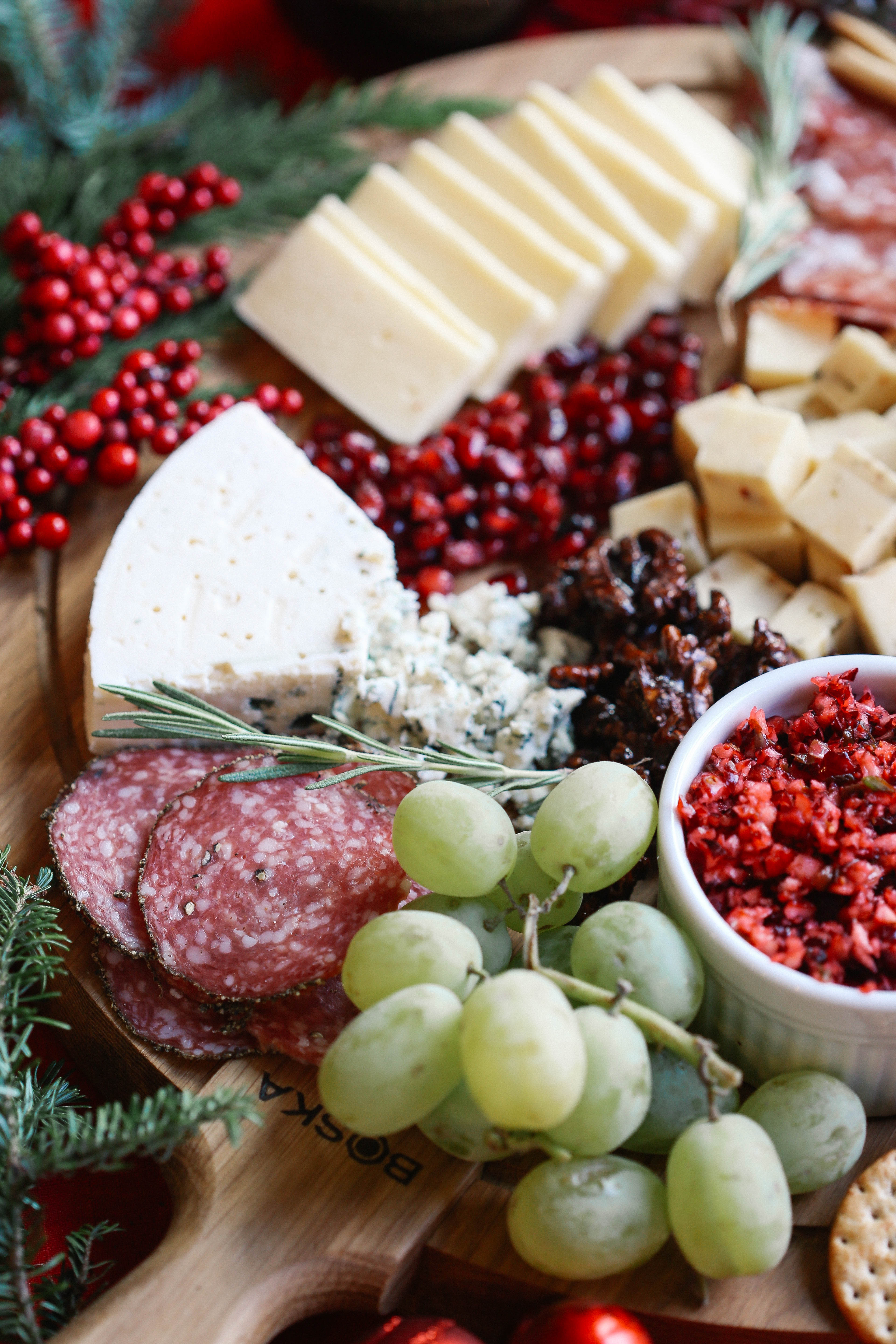 Learn how to create the perfect holiday cheese board in just five simple steps with an & How to Create the Perfect Holiday Cheese Board - Eat Yourself Skinny