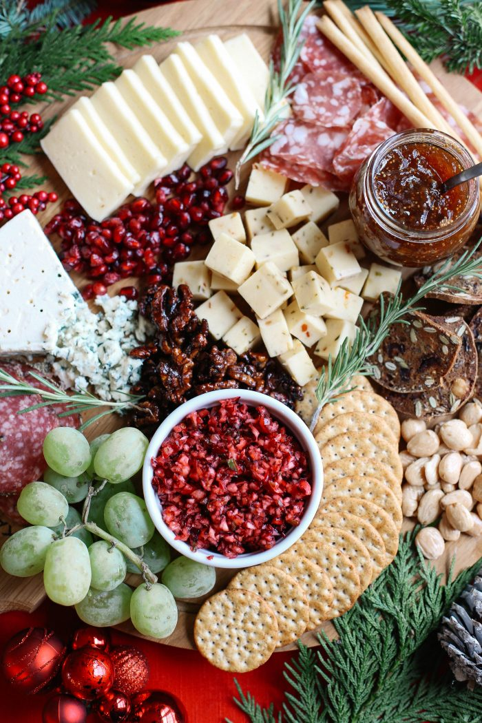 Make Your Own Holiday Cheeseboard | Christmas Dinner Ideas Guaranteed To Make The Night Memorable