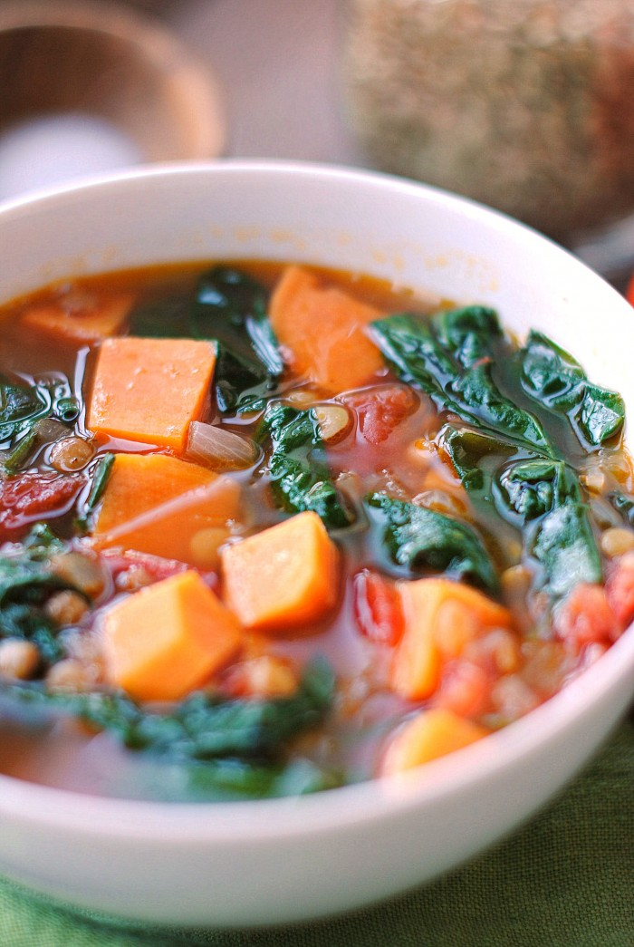 10 of my FAVORITE healthy soup recipes to keep you warm and cozy all winter long! Quick and easy, make delicious leftovers and are great for freezing too!