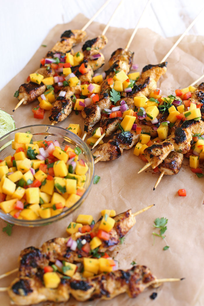 Kick off game day with 20 of my favorite HEALTHY recipes that are easy to throw together and are sure to please a big hungry crowd!