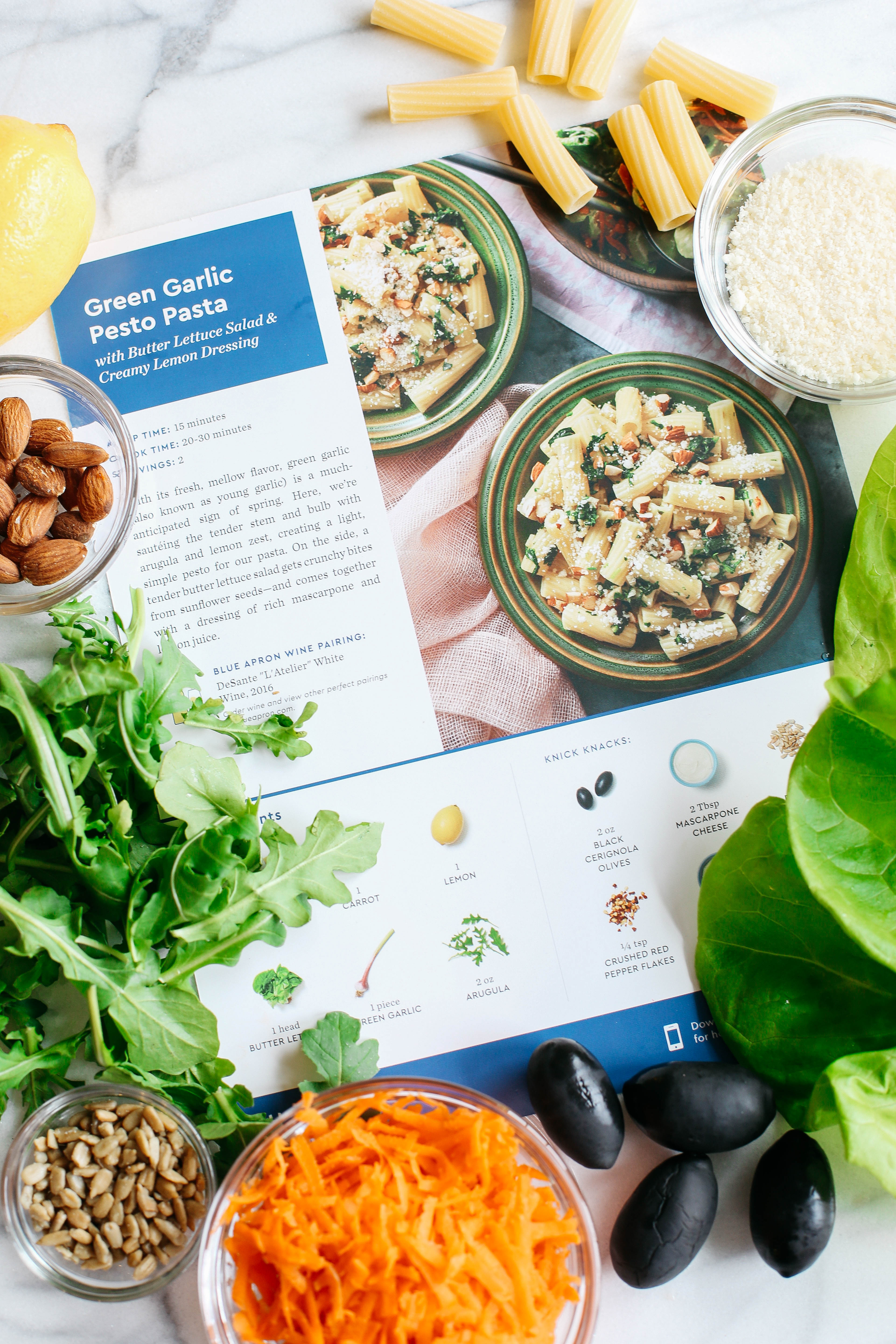 Blue apron mission statement