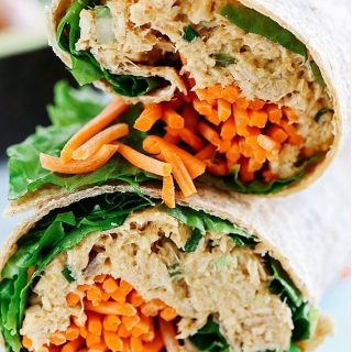 You guys will seriously LOVE this Spicy Tuna Avocado Wrap!!hellip