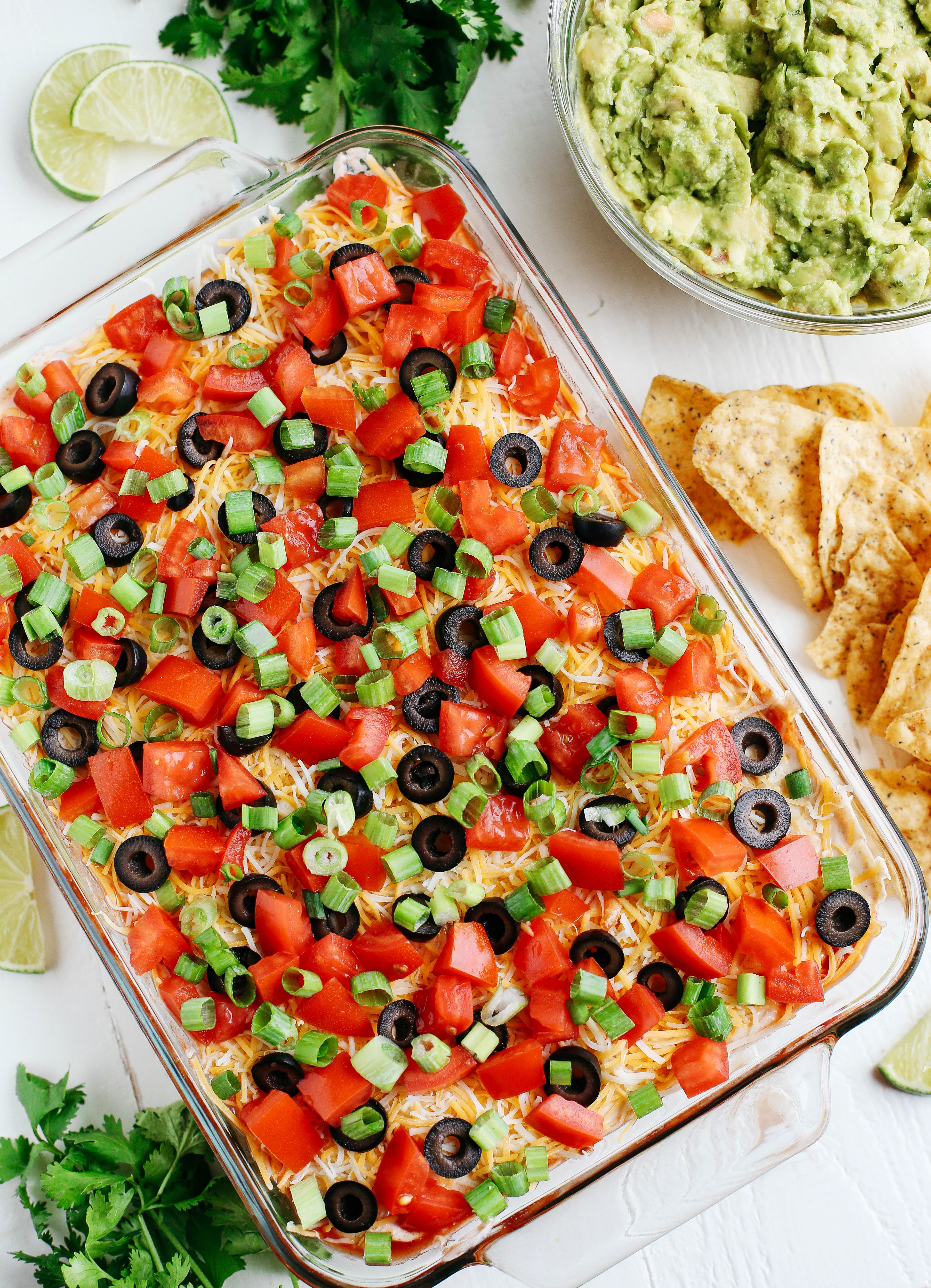 7 Layer Spicy Taco Dip - Eat Yourself Skinny