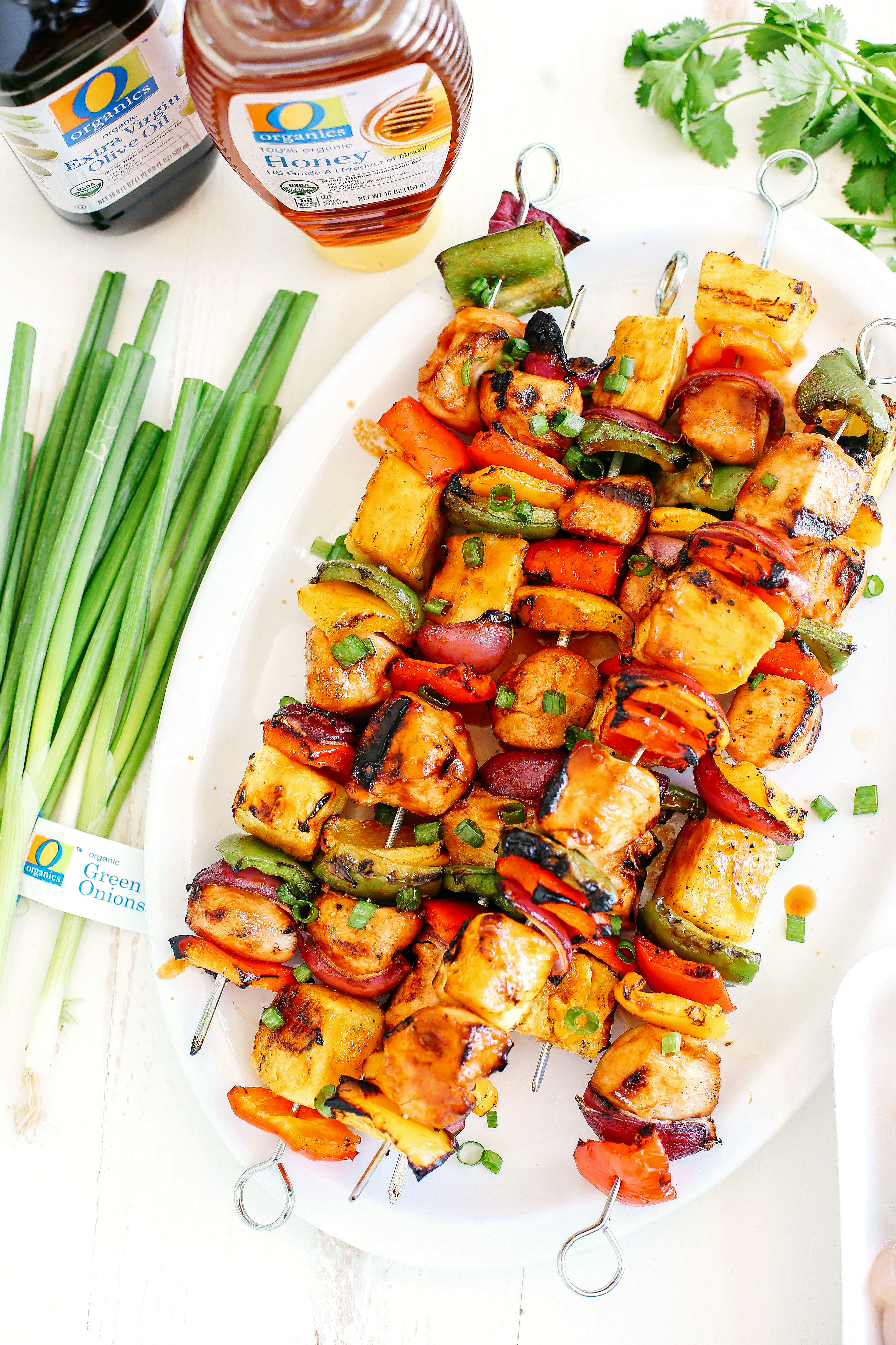 These Hawaiian Chicken Kabobs make the perfect summer meal that is easy, delicious and full of so much flavor!