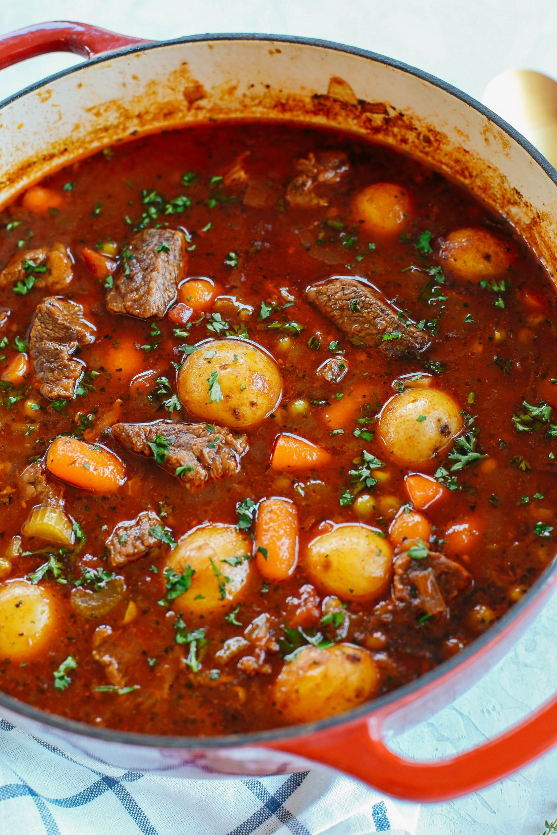 Beef And Tomato Stew Instant Pot Slow Cooker And Stove Top Eat Yourself Skinny