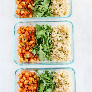 Clean eating eat yourself skinny spicy chickpea quinoa bowls meal prep forumfinder Image collections